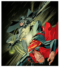 Action Comics #50 Poster Martin Ansin SOLD OUT - Batman v Superman Mondo BNG