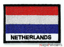 patch 1500- sew-on badge patch NETHERLANDS HOLLAND 70/45 mm