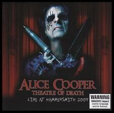 ALICE COOPER - THEATRE OF DEATH : LIVE AT HAMMERSMITH 2009 CD ~ GOTH ROCK *NEW*