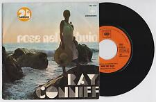"RAY CONNIFF - ROSE NEL BUIO / EVERYBODY KNOWS  45 giri 7"" CBS CBS 7033 1971 IT"