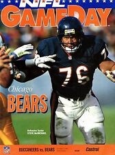 1993 Tampa Bay Buccaneers Home vs Chicago Bears NFL Football Program