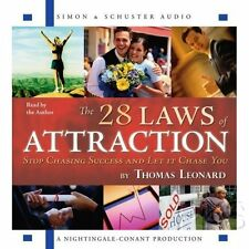 New 6 CD The 28 Laws of Attraction Nightingale Conant (Thomas J. Leonard)