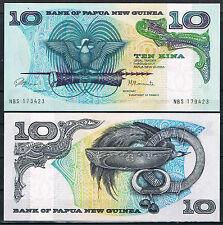 PAPUA NUEVA GUINEA - 10 KINA AÑO 1975 Pick 7   SC  UNC