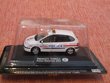 2002 RENAULT SCENIC FRENCH POLICE CAR  1:43 SCALE