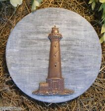 Gostatue MOLD  abs plastic lighthouse small stepping stone  mold  mould