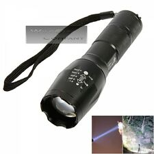 Ultrafire Military Grade Tactical Flashlight LED 1600 LM Waterproof TC1200 Style