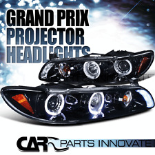 Glossy Piano Black Pontiac 97-03 Grand Prix Tinted LED Projector Headlights