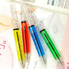 Nice 4 Pcs Doctor Nurse Gift Liquid Syringe Injection Ballpoint Pen Ballpen CN