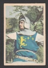 Ivanhoe Roger Moore 1958 TV Series Scarce Card Look! from Germany G