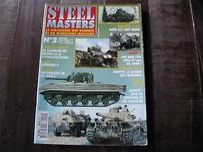 STEEL MASTERS N° 2/CAAMPAGNE DE FRANCE/SHERMAN DD/SDKFZ 231/8/AMD178/WHIPPET/AMX
