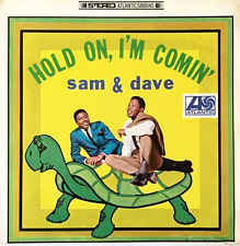 SAM & DAVE ‎- Hold On, I'm Comin' (LP) (G/G+)
