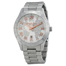 Michael Kors Layton Silver Crystal Stainless Streel Ladies Watch