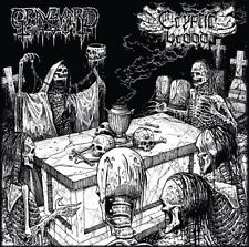 GRAVEYARD GHOUL / CRYPTIC BROOD - split LP + DL Code - DEATH METAL