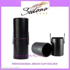 NEW Sedona Lace PROFESSIONAL BRUSH CUP HOLDER w/Snaps FREE SHIPPING Travel Case