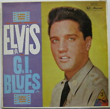 ELVIS PRESLEY G.I. Blues SOUNDTRACK 1960 AUSTRALIA ORG MONO LP Minty!