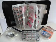 Huge Lot MARY KAY Organizer Binder Case w/ 100s of SAMPLES Makeup Cosmetics