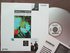 SWING OUT SISTER Kaleidoscope World JAPAN Laser Disc LD VAL-3120 w/INSERT FreeSH