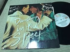"DAVID BOWIE MICK JAGGER SPANISH 12"" MAXI SPAIN DANCING IN THE STREET EMI 85"