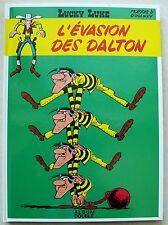 Lucky Luke L'Evasion des Dalton & En remontant le Mississipi MORRIS éd F Loisirs