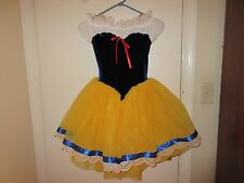 Curtain Call Costumes Ballet Halloween Fairy Tale Snow White sz CME Child M