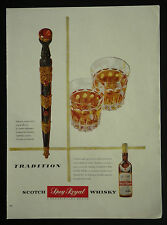 Cameron Highlanders Dirk Gilbey's Spey Royal Whisky 1955 1 Page Advertisement Ad