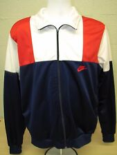 Vintage Nike Blue White Windbreaker Track Warm Up Jacket Size L Large with Pants