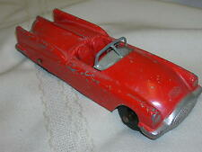 "Tootsietoy Car Red Convertible 5 5/8"" Tootsie Toy Car  Buick Xp-300 Experimental"