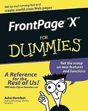 Front Page 2003 For Dummies - by Asha Dornfest - Like New Website Programming