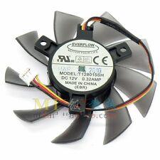 GIGABYTE GTS450 Video Card Fan T128015SH 12V 0.32A 3Pin 75*40mm #M2657 QL