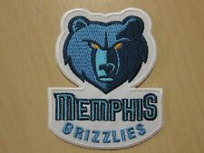 NBA MEMPHIS GRIZZLIES Logo embroidered Iron on Patch High Quality Shirt Bag Cap