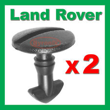 LAND ROVER DISCOVERY 3 4 REAR BUMPER TOW COVER CLIPS TOWING EYE TRIM