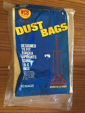 Eureka 9 pack VCB Brand Disposable Style F & G Dust Bags for Upright