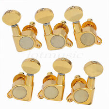 Gold 3L3R Guitar String Tuning Pegs Machine Heads For Fender Gibson Replacement