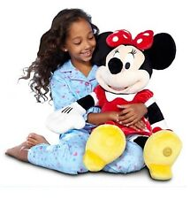 "Disney Store Deluxe Red Minnie Mouse BIG Jumbo Plush 27"" Tall HUGE Girls Doll"