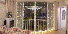 4.5X3M LED Home Christmas Decorative Wedding Fairy Curtain Garlands Party Lights