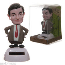 New Novelty Dancing Mr Bean Solar Powered Pal Flip Flap Car Home Window Fun FF46