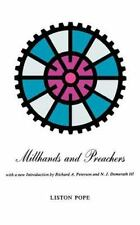 Millhands and Preachers: A Study of Gastonia (Yale Studies in Religiou-ExLibrary