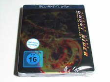 GHOST RIDER SPIRIT OF VENGEANCE BLU-RAY STEELBOOK LIMITED EDITION W/ POSTER RARE