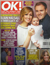 OK, FIRST FOR CELEBRITY NEWS, NOVEMBER, 19th 2013  ISSUE, 905 ( CARRY ON KATE !