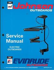 1994 OMC EVINRUDE & JOHNSON OUTBOARD MOTOR ELECTRIC SERVICE MANUAL NEW