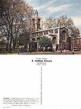 1960's St MARGARETS CHURCH WESTMINSTER LONDON UNUSED COLOUR POSTCARD