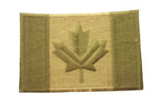 CANADA SQUARE MEDIUM MILITARY FLAG EMBROIDERED IRON-ON PATCH CREST BADGE .. NEW