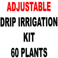 60  PLANTS - D.I.Y. DRIP IRRIGATION KIT WITH ADJUSTABLE EMITTERS PLANTS-POTS