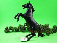 Tortenfigur Papo Black Horse Jumping Figur Statue Modell DIORAMA Spielzeug A482