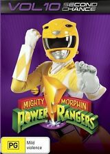 Mighty Morphin Power Rangers: Second Chance - Vol 10 NEW R4 DVD