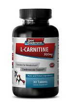 Weight Loss Super Strength Supplements L-Carnitine 500mg  Amino Acid 1 Bottle