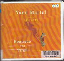 Beatrice and Virgil by Yann Martel (2010, CD, Unabridged) Donkey & Monkey Novel