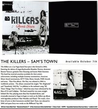 The Killers Sam's Town 10th Anniversary Vinyl 45RPM Record