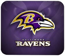 "BALTIMORE RAVENS MOUSE PAD 1/4"" NOVELTY MOUSEPAD"