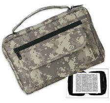 NEW! Digital Desert Camo/Camouflage Bible & Book Cover *Full-Size* Carry Case